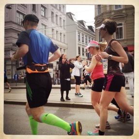 God bless you. Vienna City Marathon 2015.