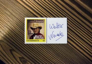 Die Walter-Nevada-Briefmarke. Foto: Christopher Mavrič
